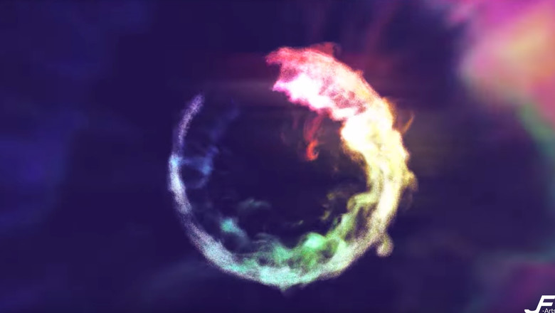 stoke new rainbow circle pixel particle