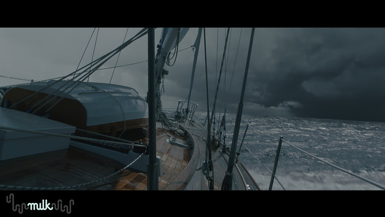 milk vfx deadline customer adrift boat water